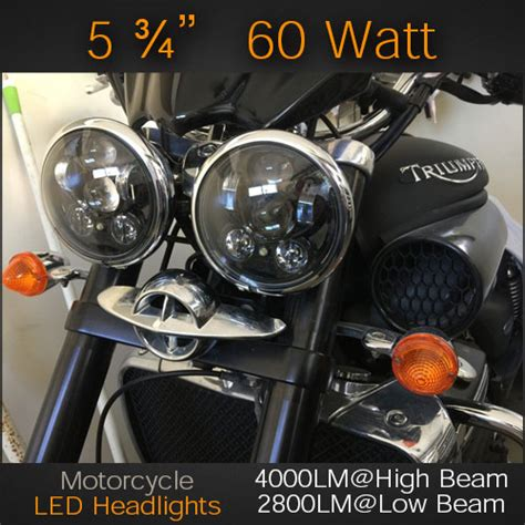 Toyota Avanza Veloz Led Osram L Nbr H4 Laser Led Headlight For Motorcycles 5 190 Quot With Integrated German Made Osram Led S