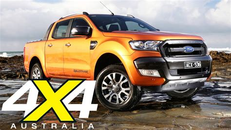 4x4 Ford by Ford Ranger Wildtrak Road Test 4x4 Australia