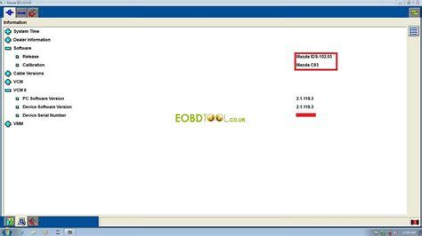 mazda ids free mazda ids software v102 03 for ford vcm 2