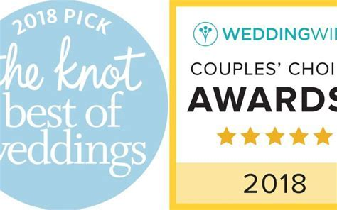 THE KNOT BEST OF WEDDINGS 2018 & WEDDINGWIRE COUPLES