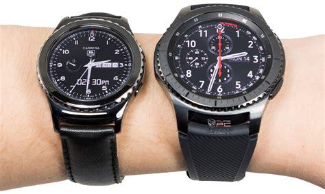 Samsung Frontier Smartwatch test samsung gear s3 frontier smartwatch dla os 243 b