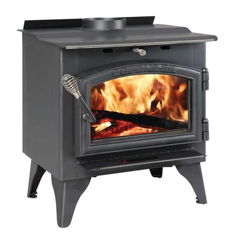 vogelzang defender 1 200 sq ft wood burning stove with