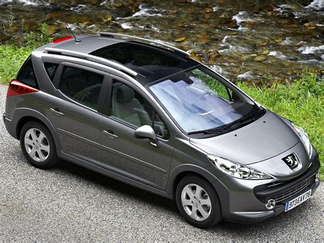 peugeot sedan 207 peugeot 207 sw outdoor photos news reviews specs car
