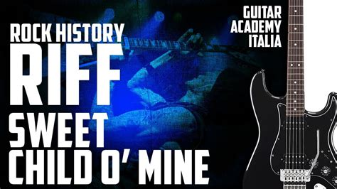 tutorial guitar mine sweet child o mine guns n roses riff chords