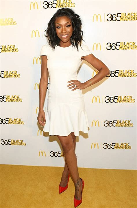 Who Wore Catherine Malandrino Better Jordin Sparks Or Emmy Rossum by Ybf Hit The 365 Black Awards During The 2013