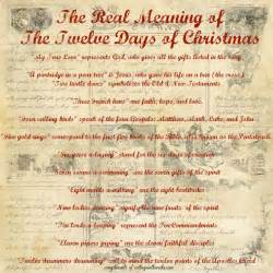 christmas story booklet 12 days free christmas