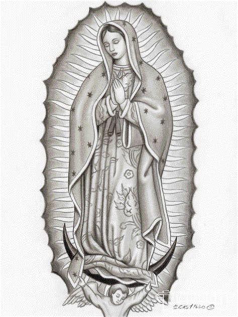 imagenes virgen de guadalupe blanco y negro virgen de guadalupe tatuaje en el brazo buscar con
