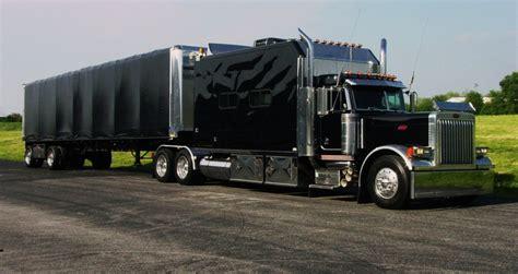 semi truck curtains jpm entertainment trucking pinterest home