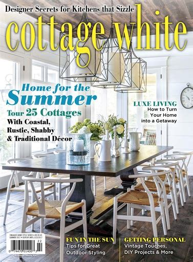 cottages and bungalows magazine cottage white summer