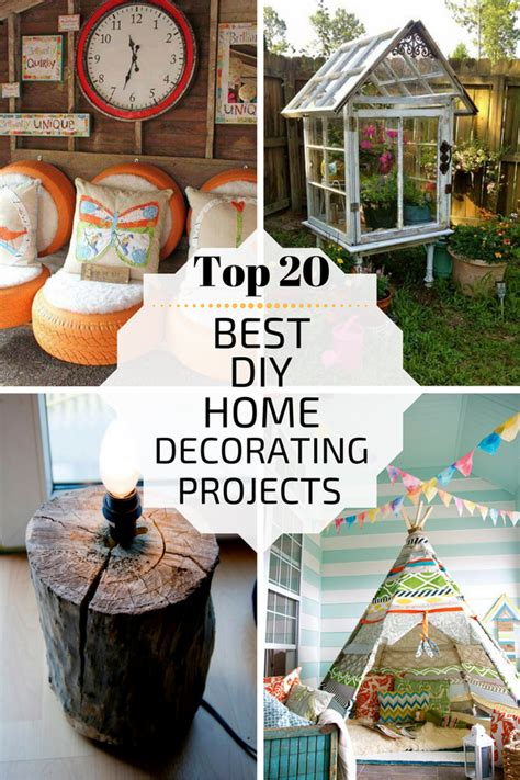20 diy home projects top 20 best diy home decorating projects zoomzee org