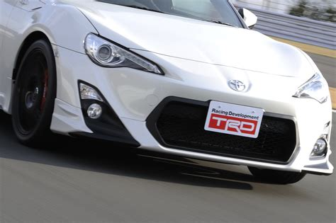 toyota line trd launches new performance line accessories for toyota