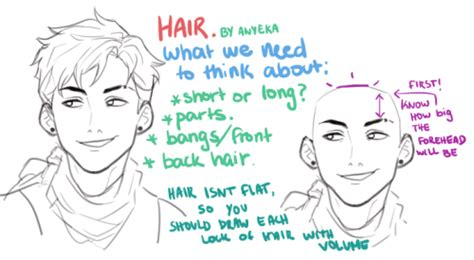 tumblr drawing anime i ve tried this one it s pretty hair tutorial on tumblr