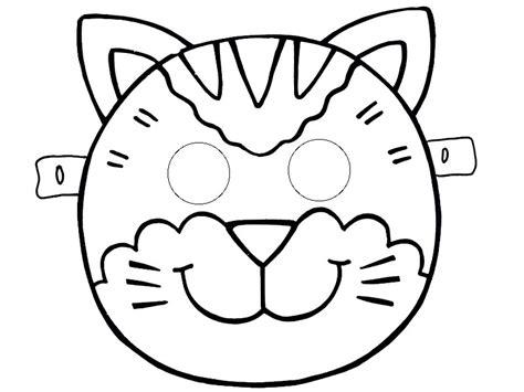 caterpillar mask template cat mask tlate 171 funnycrafts