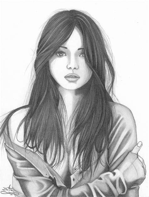 wallpaper girl sketch hd wallpaper of cute girl face sketch cute girl face