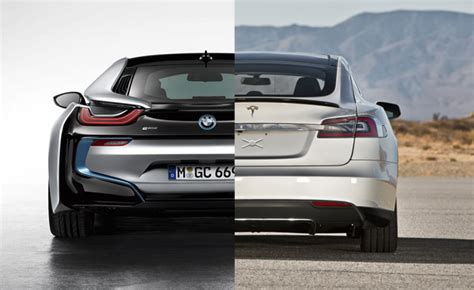 Tesla Or Bmw Tesla Bmw Collaborate In Promoting Electric Cars