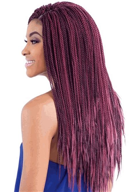 senegalese twist tracks glance synthetic braid micro senegalese twist