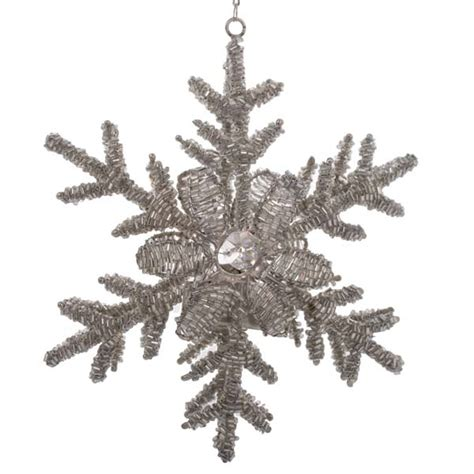 snowflake tea light holders bead snowflake hanging tea light holder