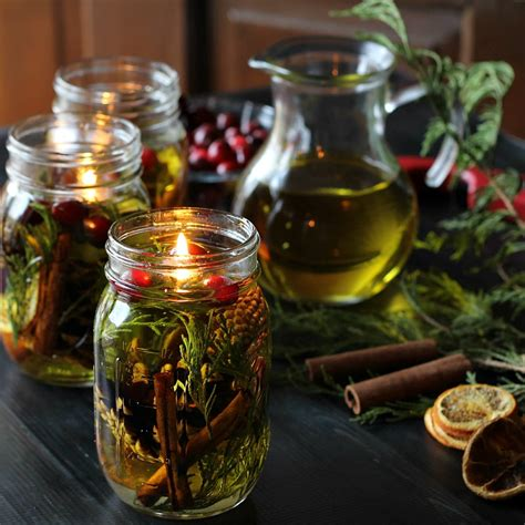 how to make mason jar lights with christmas lights make a mason jar oil candle l gifts for the holidays