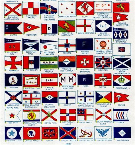 century boat flags nautical print of ocean flags of ships boat by