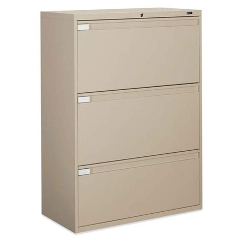 Global Lateral File Cabinet Global Office 9300p 42 Quot 3 Drawer Lateral Metal File Cabinet With Fixed Doors 9342p 3f1h