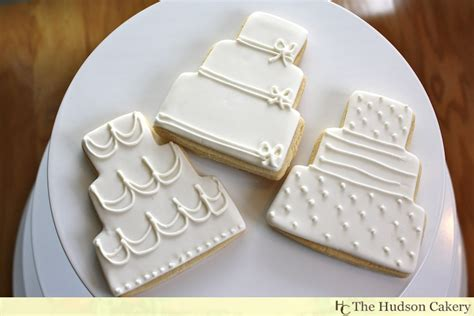 Wedding Cake Cookies by Don T Forget About Cookies Cookies The Hudson Cakery