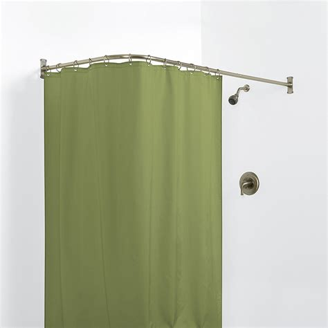 corner curtain tracks corner curtain rod matt and jentry home design