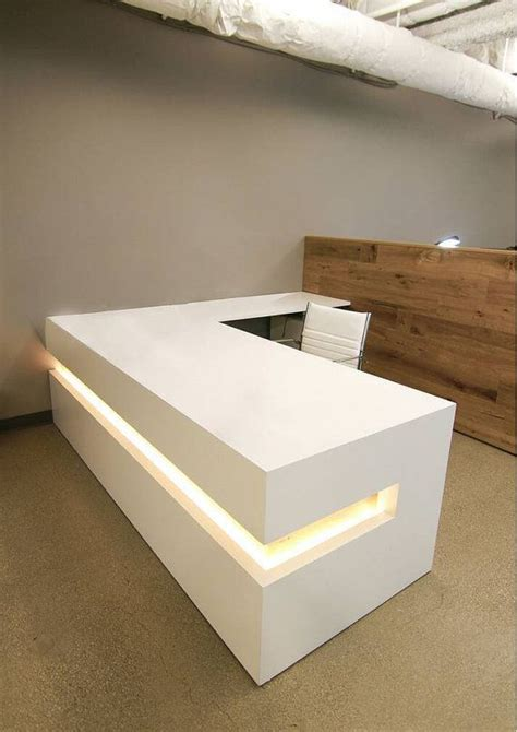 modern white reception desk 17 best ideas about modern reception desk on