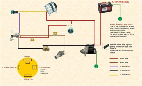 12 volt alternator wiring diagram 12 volt relay wiring