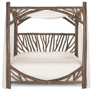 Rustic Canopy Beds Rustic Canopy Bed 4282 By La Lune Collection Rustic