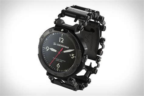 Leatherman Tread QM1 Multi Tool Watch   Uncrate