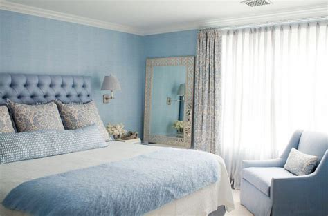 hellblaues schlafzimmer color bold bedrooms in shades of blue