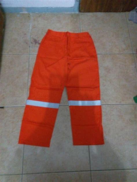 Celana Pensil Warna Orange jual baju celana kerja safety warna orange stabilo ukuran l murah wa 085288918182 harga murah