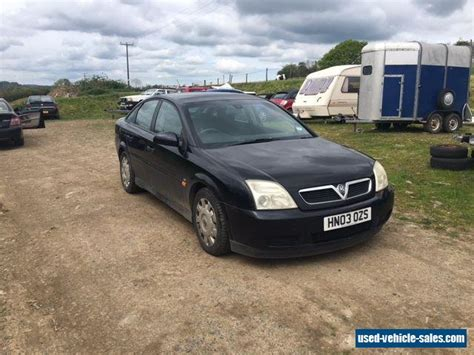 vauxhall vectra black 2003 vauxhall vectra ls dti 16v for sale in the united kingdom