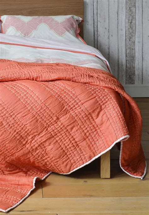 salmon bedding bedding quilt and salmon on pinterest