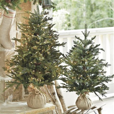 Ballard Designs Chandeliers Suzanne Kasler Frasier Fir Tabletop Tree Traditional