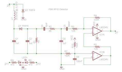build circuit gt circuits gt diy fsk rfid reader using arduino l20997