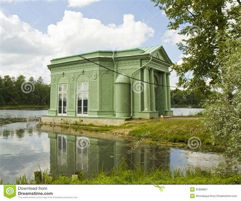 Pavilion In Park In Gatchina, Russia Royalty Free Stock