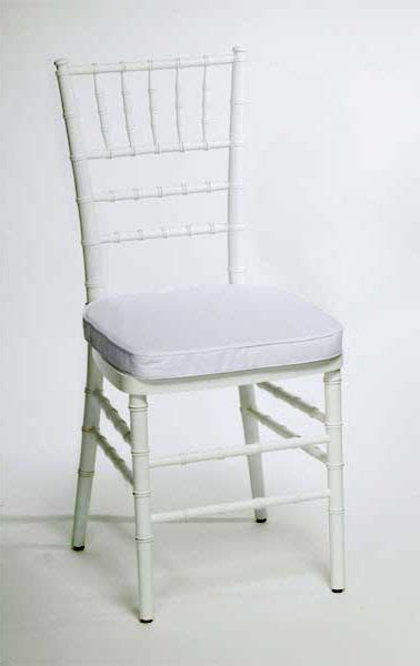 signature rentals chair white chiavari rentals