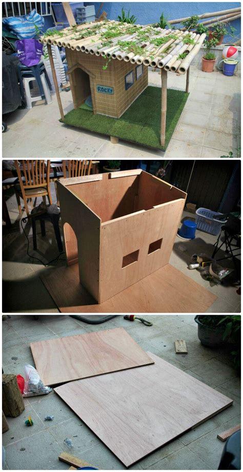 dog house tutorial 45 easy diy dog house plans ideas you should build this season