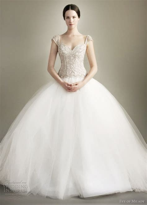 cap sleeve ball gown wedding dress images
