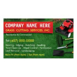 lawn mowing business cards amp templates zazzle