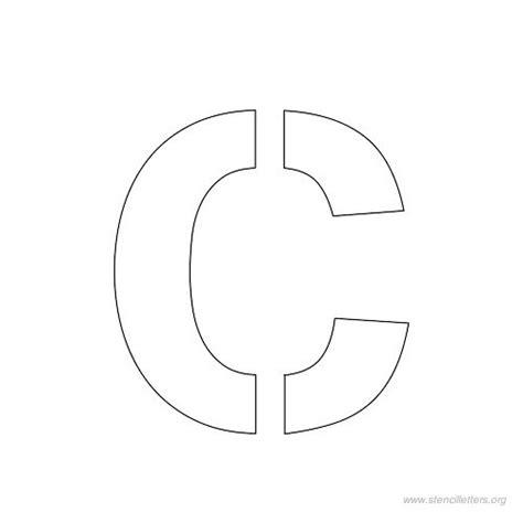 printable 1 inch letter stencils letter c stencils to print www pixshark com images