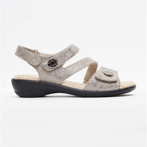 metallic sandals uk padders grace metallic combi sandals free returns at
