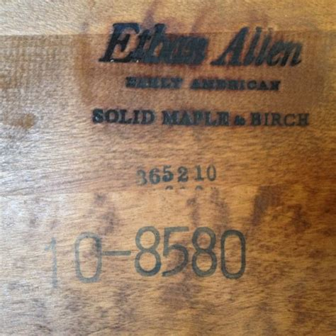 vintage ethan allen coffee table made vintage ethan allen coffee table early
