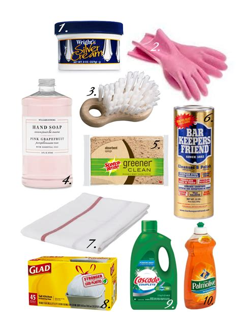 Kitchen Cleaning Products by Iron Twine Top 10 Items To Store Your Kitchen Sink