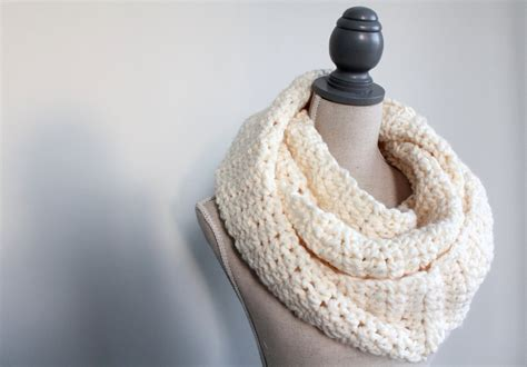 white infinity scarf ultra soft white scarf white infinity scarf chunky scarf
