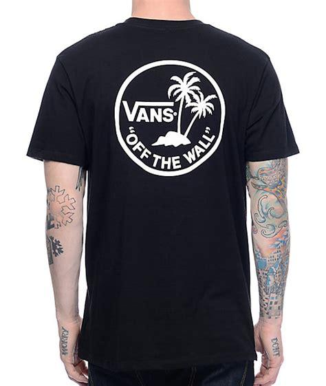 T Shirts Vans vans mini dual palm black t shirt