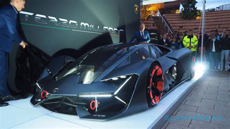 Lamborghini Terzo by Lamborghini Terzo Millennio The Raging Bull Goes Electric