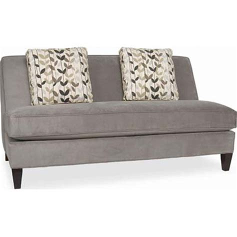 armless loveseats tomlin armless apartment sofa 7502 sofa loveseat settee cr