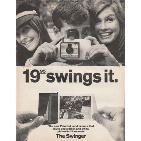 swinging adverts 1966 polaroid camera vintage ad quot the swinger quot